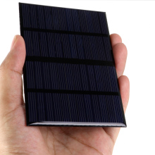 Universal 12V 1.5W Solar Panel Standard Epoxy Polycrystalline Silicon DIY Battery Power Charge Module 115x85mm Mini Solar Cell(China)