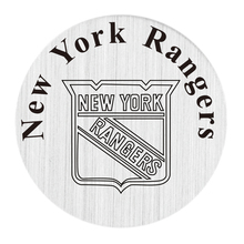 20 Pcs 22mm Stainless Steel Hockey Team NY Rangers Locket Plates Fit For 30mm Floating Glass Memory Lockets(China)