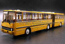 Yellow 1:43 Soviet Union IKarus-28033m Bus Series Diecast Model Car IKarus-280.33m IKarus 280 33m