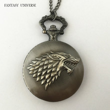 FANTASY UNIVERSE Freeshipping 20pc pocket watch necklace QLYLHB02