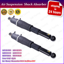 Pair Brand New Rear Air Ride Shock Absorbers for Chevy GMC & Cadillac Chevrolet Trucks Right Left 25979391 SHocks Suspension