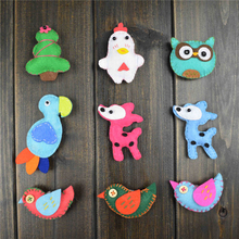 (5PCS) Cartoon Animal Parrot Giraffe Birdie Brooch Pins wedding Suits Lapel Pin shirt For Insert Brooches for Women Jewelry MZ88