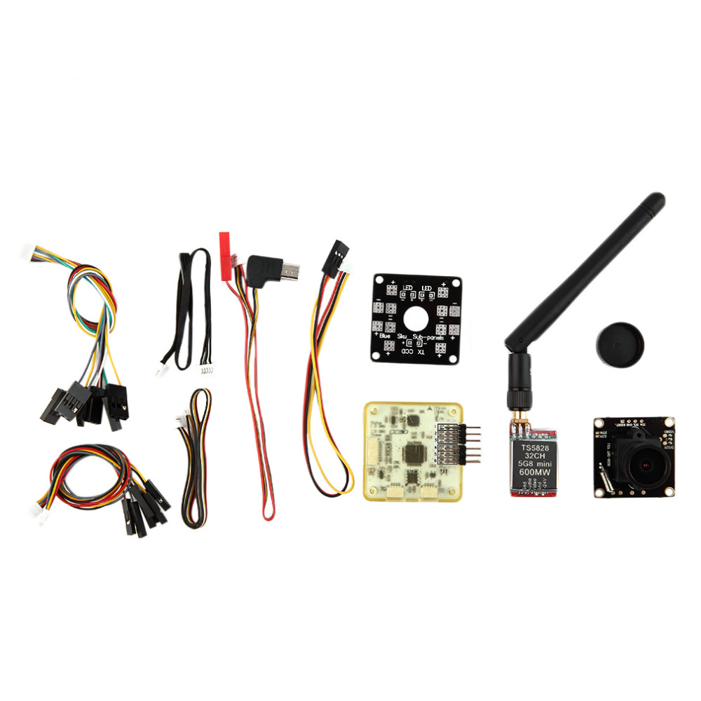 1set Mini Carbon 250 FPV Quadcopter Frame Kit Unassembled With AV Transmitter Camera Wholesale