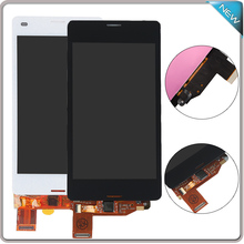 "4.3"" Black White For Sony Xperia Z3 Mini Compact D5803 D5833 LCD Display Touch Screen Digitizer Assembly , free shipping"