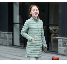 Cheap wholesale 2017 new Autumn Winter Hot sale women's fashion casual YX1060 snow warm Coat waterproof Jacket
