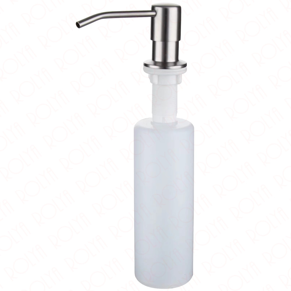 2017 New Wholesale Modern SUS Brushed Nickel Countertop Liquid Dish Hand Pump Replacement Kitchen Sink Soap Dispenser
