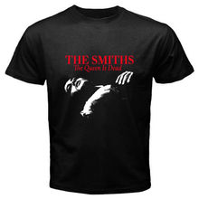 THE SMITHS *The Queen Is Dead 80's Rock Music Men's Black T-Shirt Size S to 2XL Novelty Cool Tops Men Short Sleeve T-shirt