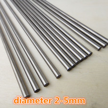 1pc J300 DIY Model Car Shaft Diameter 2-5mm Length 200/250mm High Hardness Steel Axle Free Shipping Russia(China)