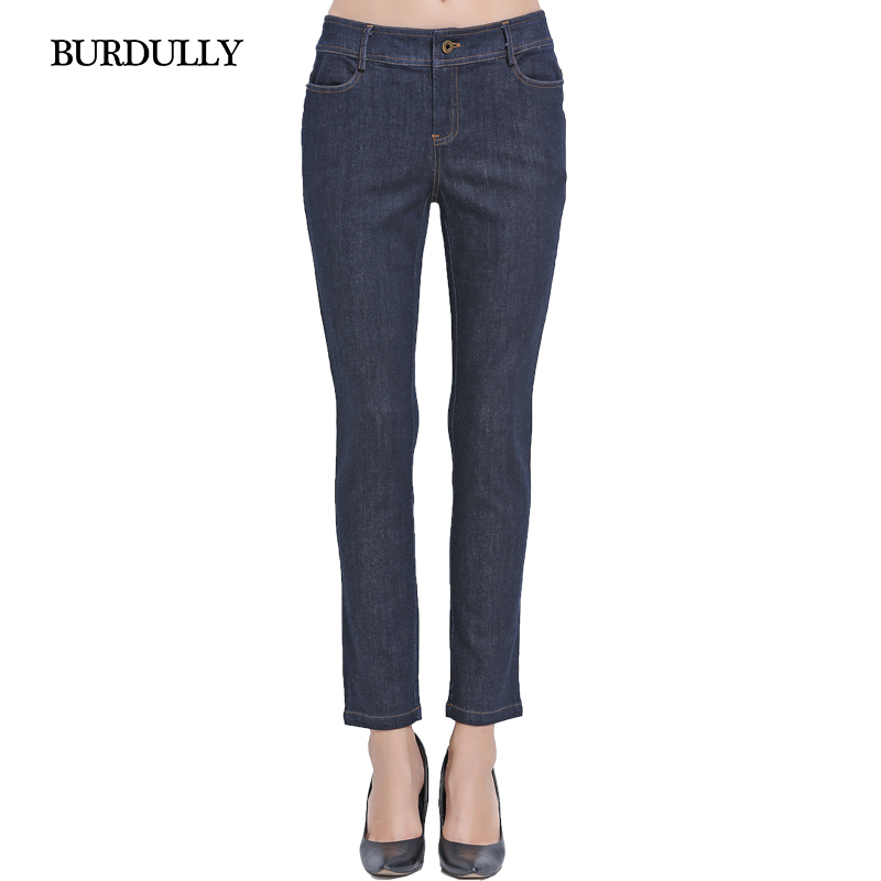 Autumn 2016 Skinny Jeans Woman Vaqueros Mujer Feminina Cintura Alta Pocket Cotton Women Casual Straight Jeans Trousers Big SizeОдежда и ак�е��уары<br><br><br>Aliexpress