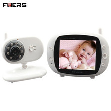 "Fuers 3.5"" Wireless Baby Radio Babysitter Digital Video Baby Monitor WiFi Two Way Intercome Security Surveillance Baby Camera"