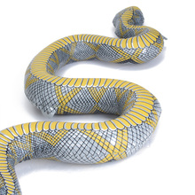 New Hot104 CM Inflatable Snake Toy Halloween Decoration Prop Party Decorations Horrifying Party Favors Gifts Present Tricky Toys