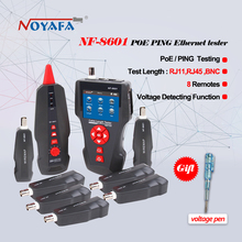 New NF-8601 Multi-functional Network Cable Tester LCD Cable length Tester Breakpoint Tester English version(China)