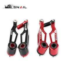 SNAIL Litepro V238 V Brake For Dahon Foldable Bicycle Brake Calipers Al 7075 CNC Folding Bike V Brake Set 2 Colors