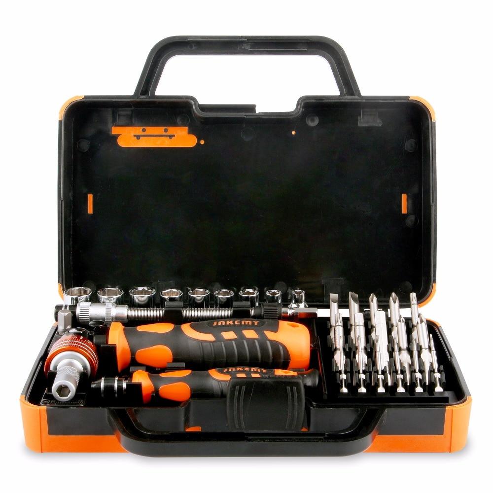JAKEMY 31 In 1 Precision Repair Tool Set Screwdriver Phone Set Electronic Repair Car Repairing Tool Kit With Magnetize <br>