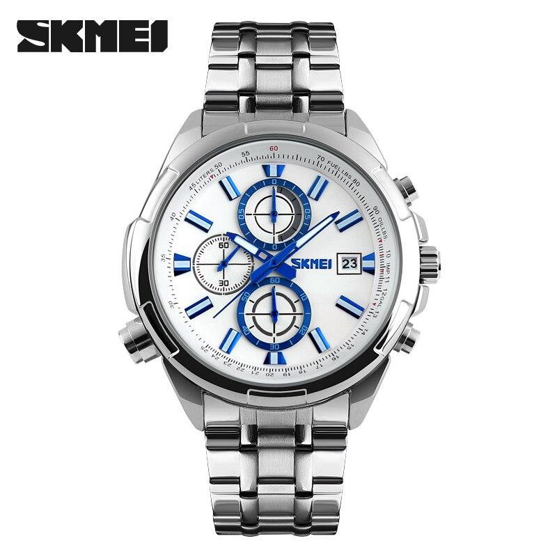 New Watches Men Sports Fashion Quartz Watch Luxury Stainless Steel Waterproof Casual Quartz Clock Relogio Masculino Wristwatches<br><br>Aliexpress