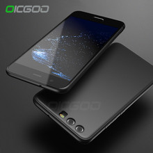 OICGOO Soft Case For Huawei P10 Lite P9 P10 Cases Silicon Back Ultra Thin TPU Full Cover For Honor 8 P10 Lite Phone Case Shell(China)