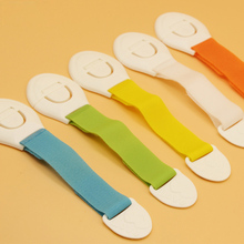 5Pcs/lot child lock protection of children refrigerator drawer lock blockers for the safety children cabinet lock drawer latches