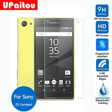 UPaitou Screen Protector For Sony Xperia Z3+ Dual Tempered Glass Film Safety Protective on Z4 E6553 E6533  Z5 Z1 Z2 Z3 Compact
