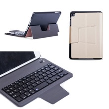 "Ultra Slim Russian/Spanish/Hebrew Wireless Bluetooth Keyboard Stand PU Leather Cover Case For Apple iPad Mini 1 2 3 7.9"" Tablet(China)"