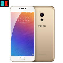 "Original Meizu Pro 6S Pro6s 5.2"" Global firmware cellphone 4GB RAM mtk Helio X25 Deca core Fast Charge GPS bluetooth smartphone(China)"
