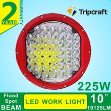 New arrival 10inch 225w led work light, super bright led driving light 225w used for Truck