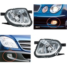Fog Lights fits W211 S211 2002 2003 2004 2005 2006 Sprinter fits Mercedes 2005 - 2013 Clear Driving Lamps Pair(China)