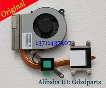 new 595833-001 cooler for HP CQ42 G42 G62 CQ62 CPU cooling heatsink with fan