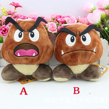 New Arrival Super Mario Bros Plush Toys Doll Brown Goomba Stuffed Animal Plush Doll Toy New With Tag 6inch 15cm Retail