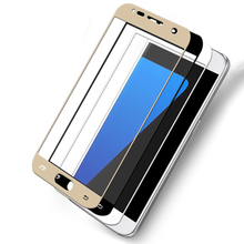 ABCTen Colorful Toughened Glass Film Cell Phone Protector For Samsung Galaxy J2 Prime J5 Prime J7 Prime