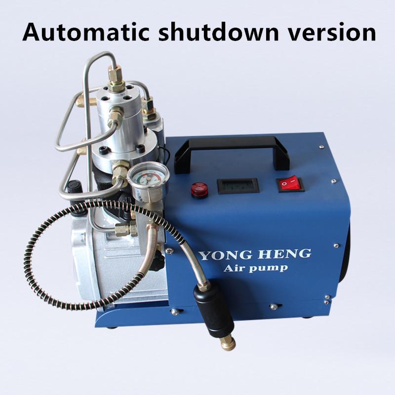 Automatic shutdown version