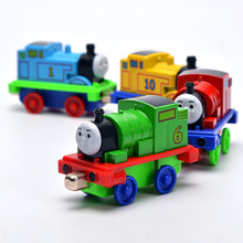children's thomas and Friends thomas train set the tank engine metal magnetic tomas car die cast toys cars miniatures gifts(China)