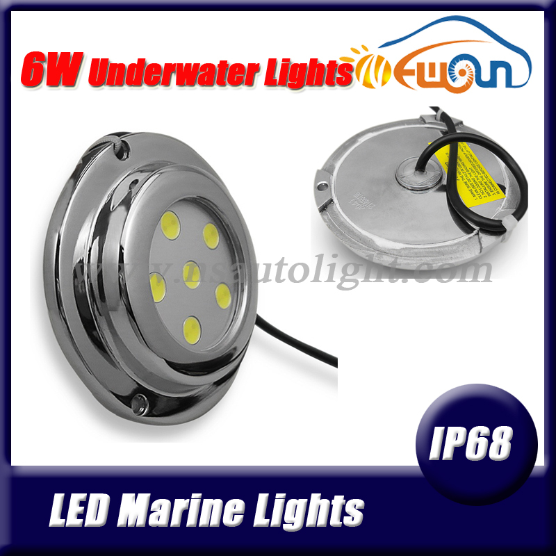 High grade stainless steel 100% ip68 led underwater boat light IP68 6w pool light led underwater lamps for yacht marine lights<br><br>Aliexpress