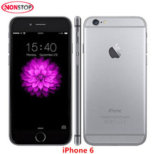 Unlocked Apple iPhone 6 Original IOS Phone 4.7 inch Dual Core 8.0MP Camera 3G WCDMA 4G LTE Used 16/64/128GB ROM Smartphone(China)