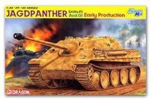 Dragon model 6458 1/35 scale Sd.Kfz.173 Jagdpanther Ausf.G1 Early Production(China)