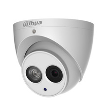 Dahua 4MP HD WDR Network Small IR Dome Camera IPC-HDW4421EM-AS built in mic poe ip camera