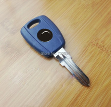 10pcs/Lot  Blank Case For Fiat Transponde Key Key Shell GT15R Blade For Palio