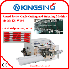 China Manufacturer Digital Round Jacket Cable Cutting and Stripping Machine KS-W106 + DHL Free Shipping