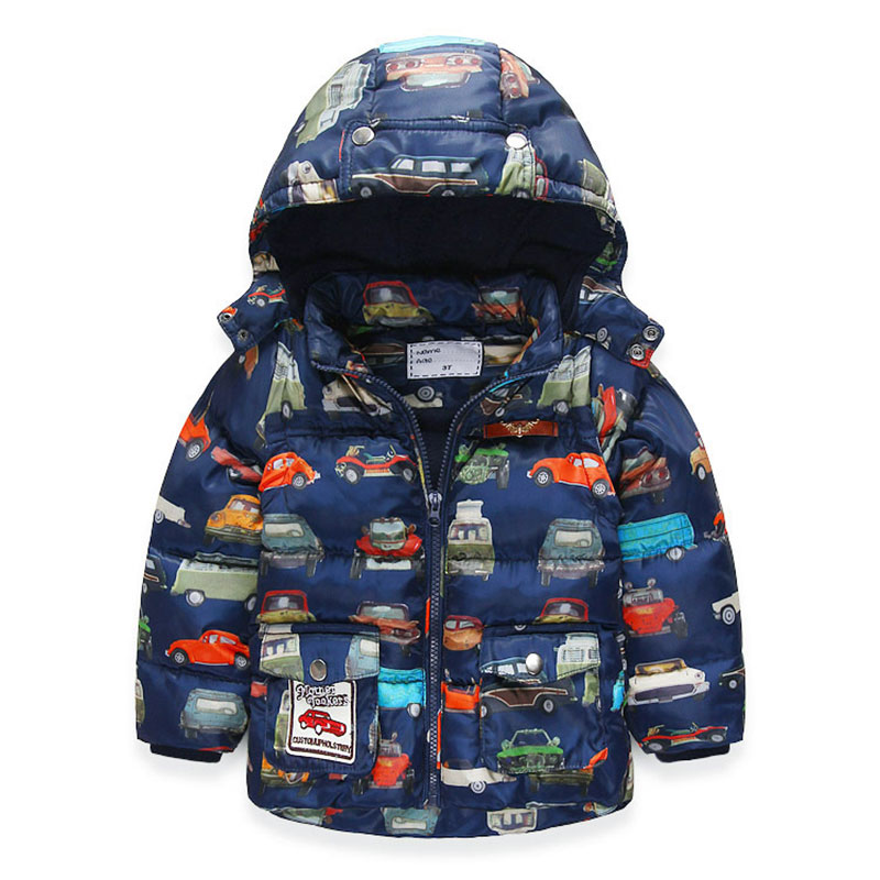 New Winter Warm Jacket  For 3-8 Years Kids Thicken Boys Jacket &amp; Vest Children Detachable Hood Detachable Sleeves  Parka CoatÎäåæäà è àêñåññóàðû<br><br>