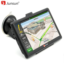 Junsun 7 inch Car GPS Navigation Capacitive screen Bluetooth AV-In FM Built in 8GB/128M WinCE 6.0 Map For Europe house car