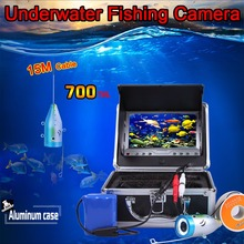 "15Meters Deepth of Super Mini 700TVL Underwater Camera & 3.5"" Digital LCD Monitor Kit with Anti-sunshine Cover & Aluminum Case(China)"
