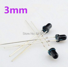 500pairs 3mm 940nm LEDs infrared emitter and IR receiver diodes F3