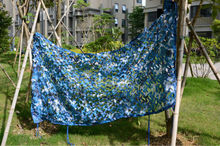 3*7M(118in*275.in) sky blue military camouflage net blue army netting huntting net cheap camo netting military camouflage fabric(China)