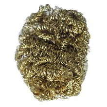 8cm Diameter Copper Spiral Scourer Cleaning Ball for Machine Tool