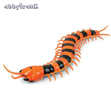 Abbyfrank Electric RC Centipede Fake Insect Remote Control Centipede Creative Electric Animal Prank Toys Tricky Funny Kids Gifts(China)