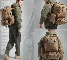 Military Tactical Molle Assault Backpack Bag Shoulders mountaineering Outdoor  bags Free shipping