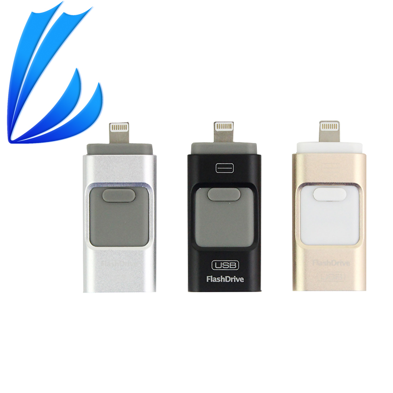 LL TRADER For iPad iPod iOS Android Devices Mac For iPhone IOS Android i-Flash Drive OTG USB Flash Device Memory Stick Free Ship<br><br>Aliexpress