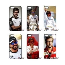 For iPod Touch iPhone 4 4S 5 5S 5C SE 6 6S 7 Plus Samung Galaxy A3 A5 J3 J5 J7 2016 2017 fernando alonso Spain driver Case Cover(China)