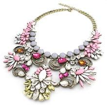 2015 new European style fashion necklace  exaggeration necklace  jewelry wholesale 6 pcs/lot