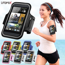 Running Sport Gym Armband Bag Case For HTC Desire 816 D816W/820 D820U D820Q Waterproof Jogging Arm Band Mobile Phone Belt Cover