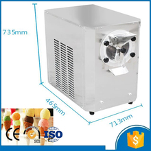 Shipping by sea 20L/H horizontal commercial hard multi flavor portable ice cream machine CFR price
